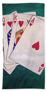 Wining Hand 2 Beach Towel
