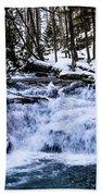 Mill Creek Falls Wv Beach Towel