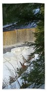 Winter At Tahquamenon Beach Towel