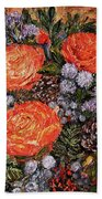 Winter Bouquet    Beach Towel