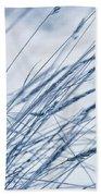 Winter Breeze Beach Towel by Priska Wettstein