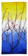 Winter Dogwood Beach Towel