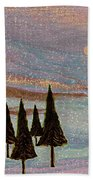 Winter Dream Beach Towel