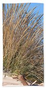 Winter Dunes Beach Towel