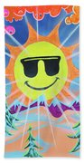 Winter Fun Beach Towel