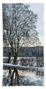 Winter In England, Uk Beach Sheet