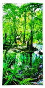 Winter In Paradise Beach Towel