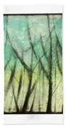 Winter Into Spring Beach Towel