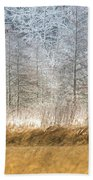 Winter Layers Beach Towel