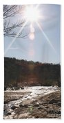 Winter Light Beach Towel