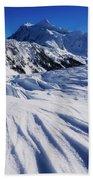 Winter Mount Shuksan Beach Sheet