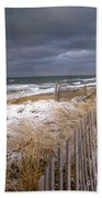 Winter On Cape Cod Beach Towel