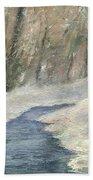 Winter On Stormcreek Beach Sheet