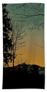 Winter Respite Beach Towel