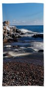 Winter Splash Beach Towel