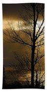 Winter Sunrise 1 Beach Sheet