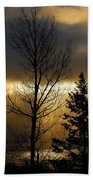 Winter Sunrise 2 Beach Towel
