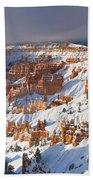 Winter Sunrise Bryce Canyon National Park Utah Beach Towel