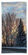 Winter Colors. Beach Towel