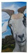 Wip 2- Goats Of St. Martin Beach Towel