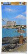 Wip-pelican 08 Beach Towel