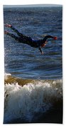 Wipe Out Beach Towel