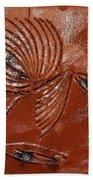 Wise Eyes - Tile Beach Towel