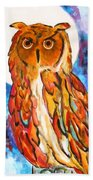 Wise Old Man Beach Towel