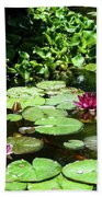 Wishes Among The Water Lilies Beach Towel