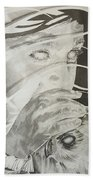 Wisper Black Ribbon Collection#2 Beach Towel