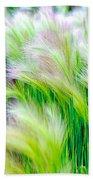 Wispy Green Beach Sheet