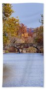 Wissahickon Autumn Beach Towel