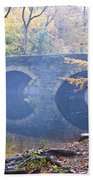 Wissahickon Creek At Bells Mill Rd. Beach Towel by Bill Cannon