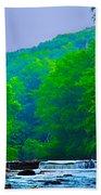 Wissahickon Creek Beach Towel