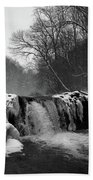 Wissahickon Snow Beach Towel
