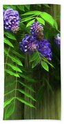 Wisteria 2 Beach Towel