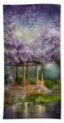 Wisteria Lake Beach Towel