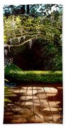 Wisteria Shadows Beach Towel