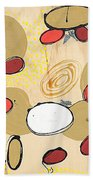 Within My Cells Beach Towel