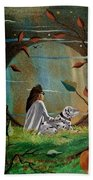 Wonderous Stories Beach Towel