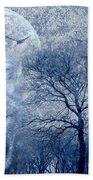 Wolf Beach Towel by Svetlana Sewell
