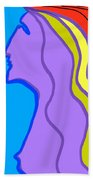 Woman 6 Beach Towel