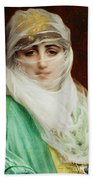 Woman From Constantinople Beach Towel