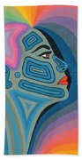 Woman Beach Towel