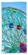Wonder Wheel Amusement Park 1 Beach Towel
