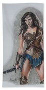Wonder Woman Beach Towel
