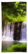 Wondrous Waterfall Beach Towel