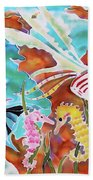 Wonders Of The Sea Beach Towel