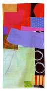 Wonky Grid #19 Beach Towel