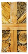 Insect Hotel #1 Beach Towel
